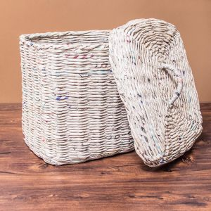 Laundry Bag With Lid - Large Rectangle